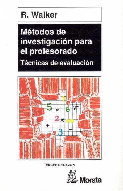 METODOS INVESTIGACION PARA EL PROFESORADO