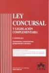 LEY CONCURSAL 5 EDICION.