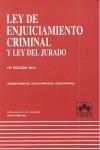 LEY DE ENJUICIAMIENTO CRIMINAL Y LEY DEL JURADO 19ª EDIC. 2012