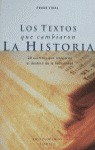 TEXTOS CAMBIARON LA HISTORIA