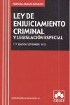 ENJUICIAMIENTO CRIMINAL 11ªED TLB 12