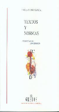 TEXTOS Y NORMAS