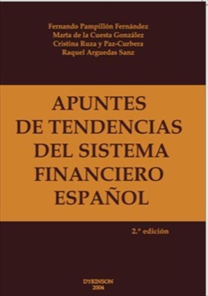 Apuntes de tendencias de sistema financiero español