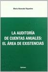 LA AUDITORÍA DE CUENTAS ANUALES: EL ÁREA DE EXISTENCIAS