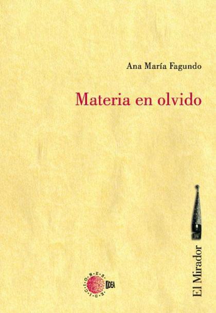 MATERIA EN OLVIDO