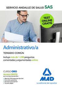 ADMINISTRATIVO/A DEL SAS TEMARIO COMUN