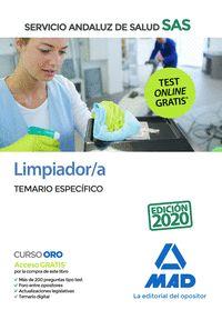 LIMPIADOR/A SAS TEMARIO ESPECIFICO