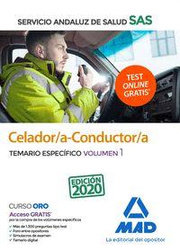 CELADOR/A-CONDUCTOR/A DEL SAS. TEMARIO ESPECIFICO VOLUMEN 1.