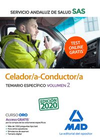 CELADOR/A CONDUCTOR/A SAS TEMARIO ESPECIFICO VOLUMEN 2