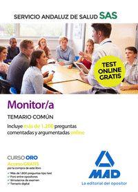 MONITOR/A DEL SAS TEMARIO COMUN