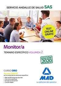 MONITOR/A DEL SAS TEMARIO ESPECIFICO VOL 2