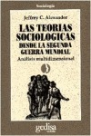Las teorías sociologicas desde la 2º Guerra mundial
