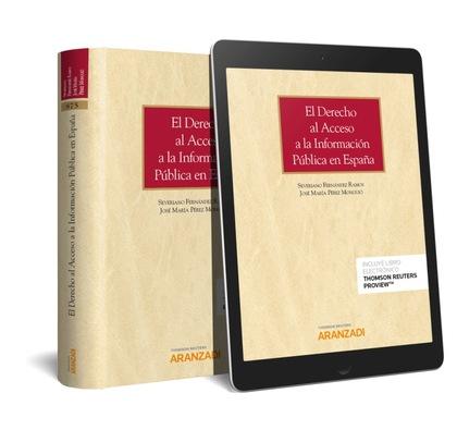 DERECHO AL ACCESO A LA INFORMACIÓN PUBLICA EN ESPAÑA (DUO).