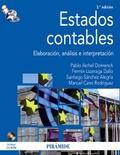 ESTADOS CONTABLES : ELABORACIÓN, ANÁLISIS E INTERPRETACIÓN