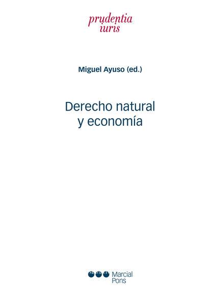 DERECHO NATURAL Y ECONOMIA
