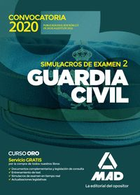 GUARDIA CIVIL SIMULACRO DE EXAMEN 2