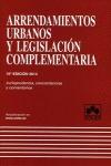 ARRENDAMIENTOS URBANOS Y LEGISLACIÓN COMPLEMENTARIA
