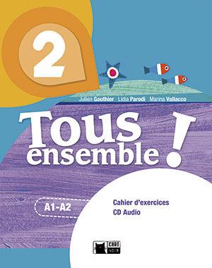 TOUS ENSEMBLE 2 LIVRE ANDALUCIA+ DVD-ROM.