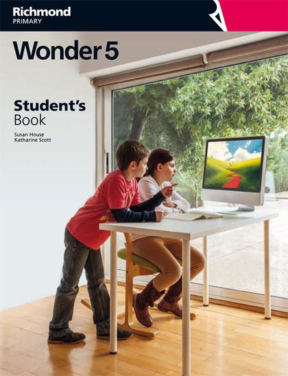 WONDER 5 STUDENT¿S BOOK EDITION TURKEY.