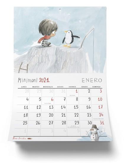 CALENDARIO MINIMONI 2021.
