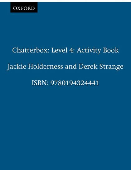 CHATTERBOX ,4 WORKBOOK