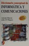 DICCIONARIO CONCEPTUAL DE INFORMÁTICA Y COMUNICACIONES