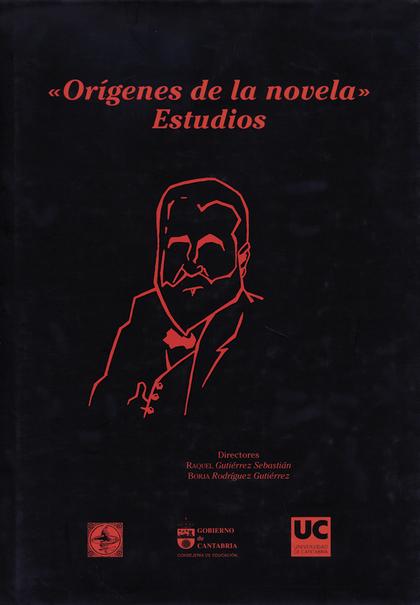ORÍGENES DE LA NOVELA : ESTUDIOS