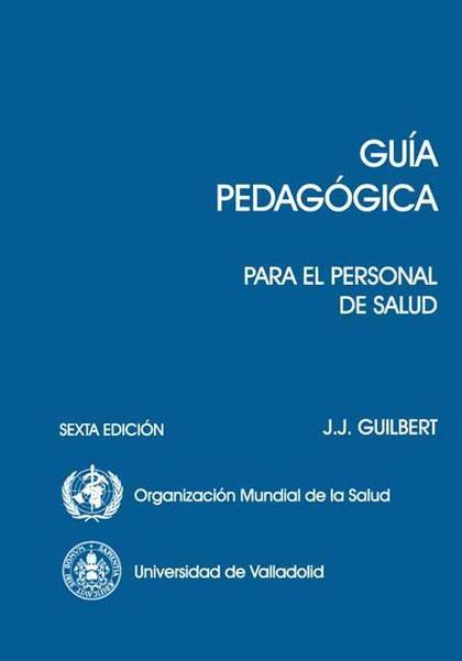 GUIA PEDAGOGICA PARA EL PERSONAL DE SALUD