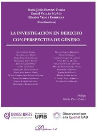 INVESTIGACION EN DERECHO CON PERSPECTIVA DE GENERO,LA