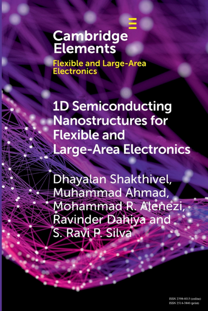 1D SEMICONDUCTING NANOSTRUCTURES FOR FLEXIBLE AND LARGE-AREA ELECTRONICS