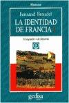 LA IDENTIDAD DE FRANCIA VOL I