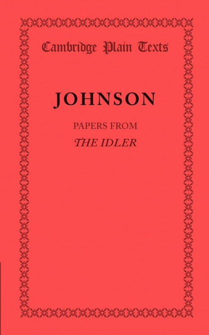 PAPERS FROM THE IDLER