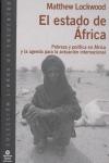 EL ESTADO DE ÁFRICA: POBREZA Y POLÍTICA EN ÁFRICA Y LA AGENDA PARA LA ACTUACIÓN INTERNACIONAL