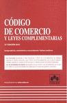 CODIGO DE COMERCIO Y LEG. 12ª ED.