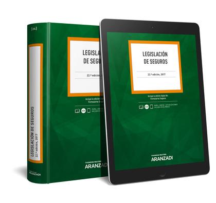 LEGISLACIÓN DE SEGUROS (PAPEL + E-BOOK).