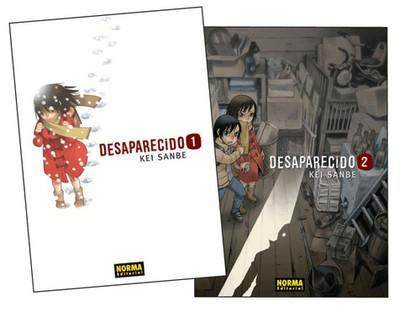 PACK DESAPARECIDO 1+2.