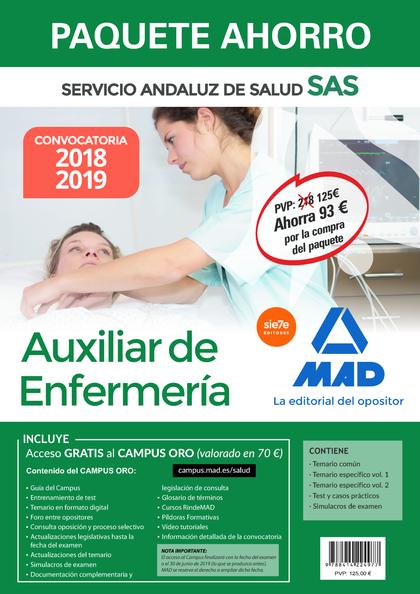 PAQUETE AHORRO AUXILIAR DE ENFERMERÍA DEL SERVICIO ANDALUZ DE