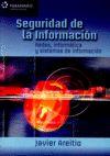 SEGURIDAD DE LA INFORMACIÓN. REDES, INFORMÁTICA Y SISTEMAS DE INFORMACIÓN.