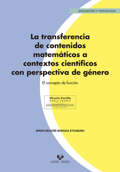 LA TRANSFERENCIA DE CONTENIDOS MATEMÁTICOS A CONTEXTOS CIENTÍFICOS CON PERSPECTI. EL CONCEPTO D