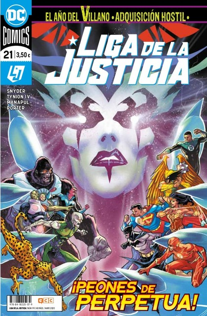 LIGA DE LA JUSTICIA NÚM. 99/ 21