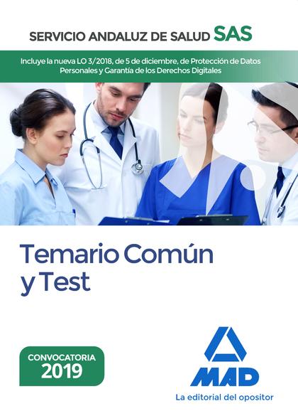TEMARIO COMÚN Y TEST DEL SERVICIO ANDALUZ DE SALUD