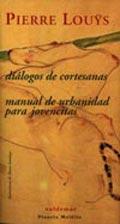 DIÁLOGOS DE CORTESANAS: MANUAL DE URBANIDAD PARA JOVENCITAS