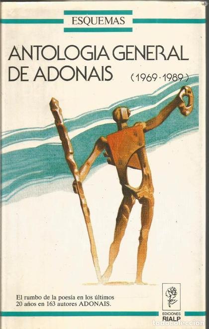 ANTOLOGIA DE GENERAL DE ADONAIS 1969-1989