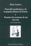 PROSA DEL TRANSIBERIANO Y DE LA PEQUEÑA JEHANNE FR