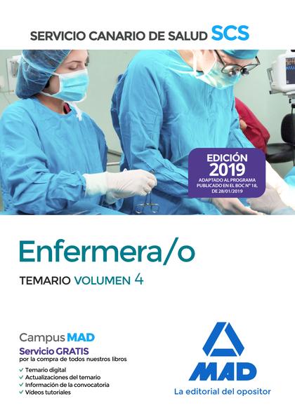 ENFERMERA/O DEL SERVICIO CANARIO DE SALUD. TEMARIO VOLUMEN 4