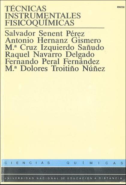 TÉCNICAS INSTRUMENTALES DE FISICOQUÍMICA.