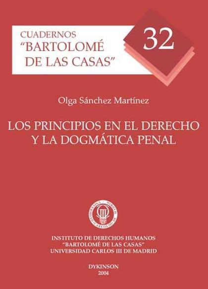 Los principios en el Derecho y la dogmática penal