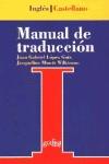 MANUAL DE TRADUCCIÓN INGLÉS-CASTELLANO: TEORÍA Y PRÁCTICA