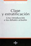 CLASE Y ESTRATIFICACIÓN