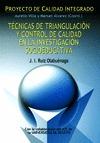 TECNICAS DE TRIANGULACION Y CONTROL DE CALIDAD EN